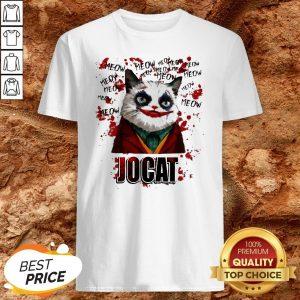 Joker Meow Jocat Halloween ShirtJoker Meow Jocat Halloween Shirt