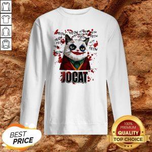 Joker Meow Jocat Halloween Sweatshirt