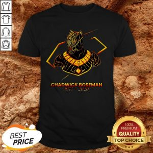 Marvel Of An Actor To Black Pather Star Chadwick Boseman Shirt