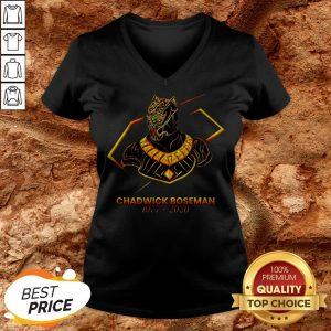 Marvel Of An Actor To Black Pather Star Chadwick Boseman V-neck