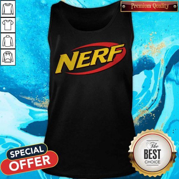 neck-gaiter-nerf-war-nerf-logo- Tank Top