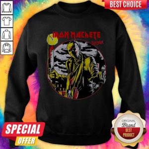 Nice Jason Voorhees Iron Machete Slasher SweatshirtNice Jason Voorhees Iron Machete Slasher Sweatshirt