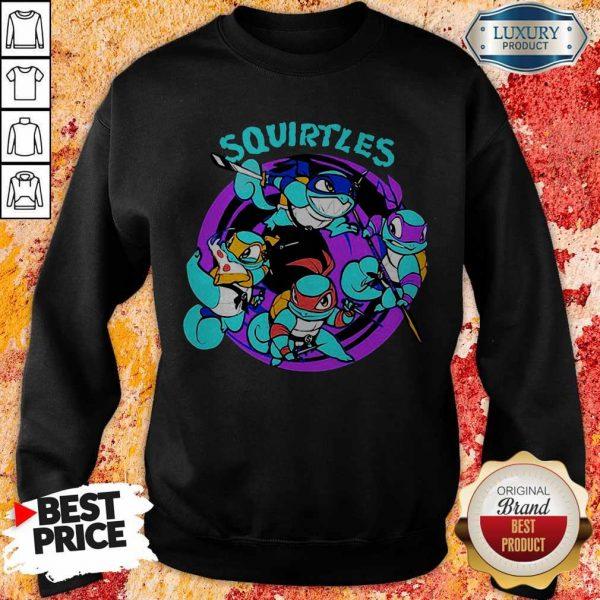 Nice Official Squirtles SweatshirtNice Official Squirtles Sweatshirt