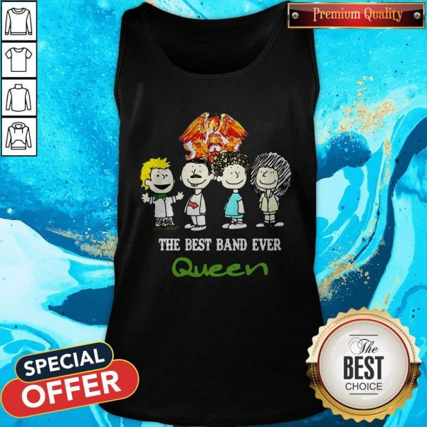 Nice Queen The Best Band Ever Tank Top