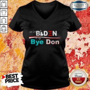 Nice Ridin Witch Biden To Say Bye Don V-neck