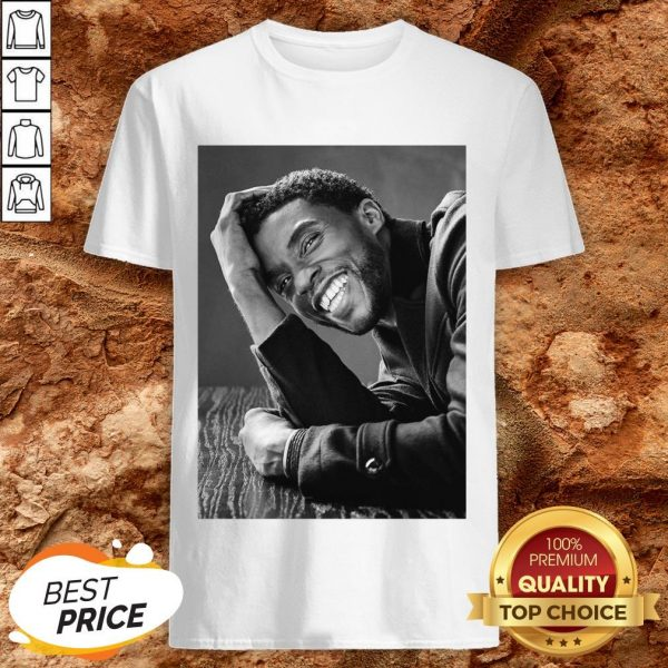 Nice Rip Black Panther's Chadwick Boseman Shirt