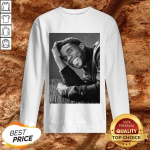 Nice Rip Black Panther's Chadwick Boseman Sweatshirt