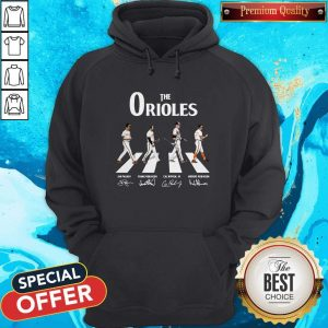 Nice The Orioles Abbey Road Signatures Hoodie