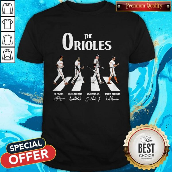 Nice The Orioles Abbey Road Signatures SNice The Orioles Abbey Road Signatures ShirthirtNice The Orioles Abbey Road Signatures Shirt