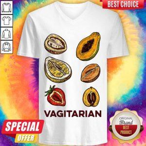 nice-vegan-vagitarian v-neck