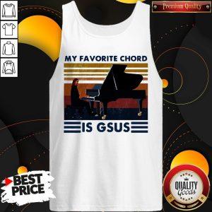 Official My Favorite Chord Is Gsus Vintage Tank TopOfficial My Favorite Chord Is Gsus Vintage Tank Top