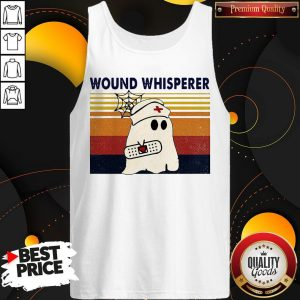 Official Nurse Ghost Wound Whisperer VinOfficial Nurse Ghost Wound Whisperer Vintage Tank Toptage Tank Top