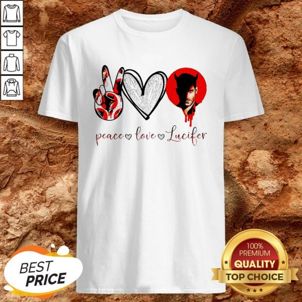 Peace Love Lucifer Diamond Shirt
