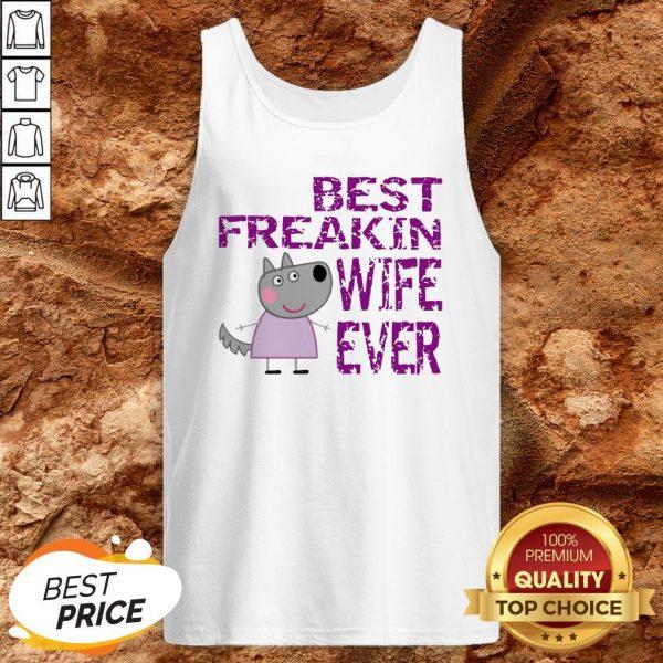 Peppa Pig Best Freakin Wife Ever Tank Top