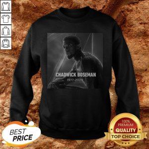 RIP Black Panther's Chadwick Boseman 1977 2020 Sweatshirt