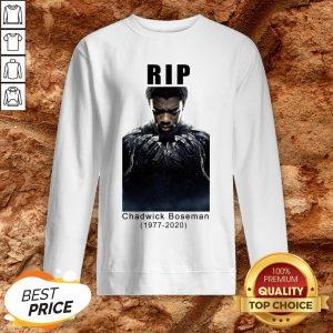 Rip Chadwick Boseman 1977-2020 Black Panther Sweatshirt
