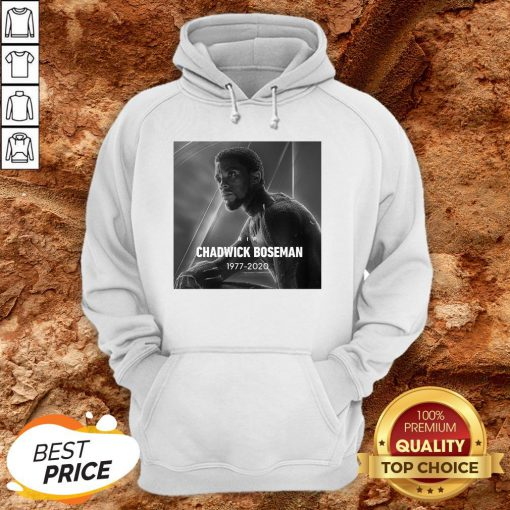 Rip Chadwick Boseman Black Panther 1977 For The Memories Signature Hoodie