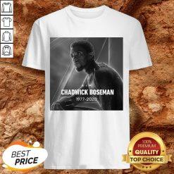 Rip Chadwick Boseman Black Panther 1977 For The Memories Signature Shirt