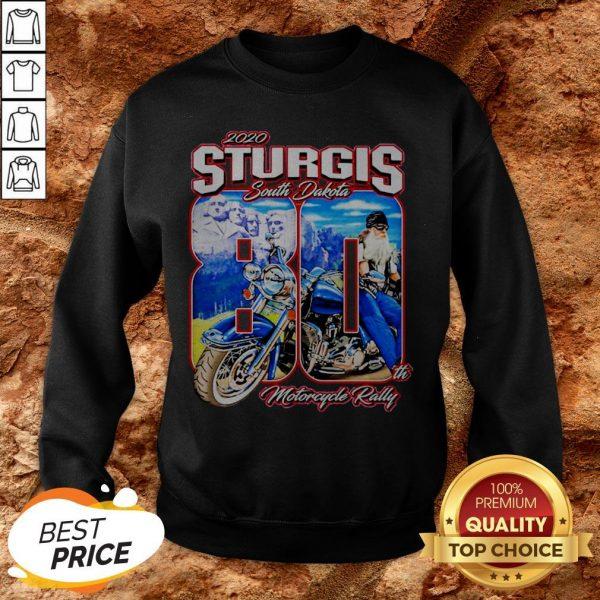 Sturgis South Dakota 80th Motorcycle Rally SweatshirtSturgis South Dakota 80th Motorcycle Rally Sweatshirt