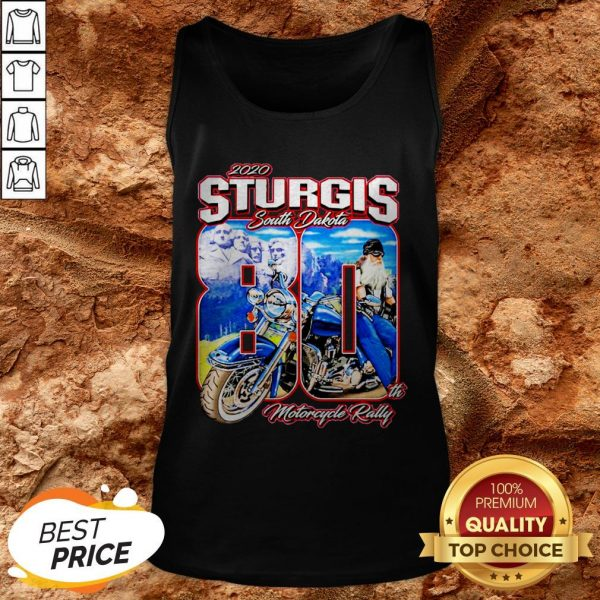 Sturgis South Dakota 80th Motorcycle Rally Tank Top