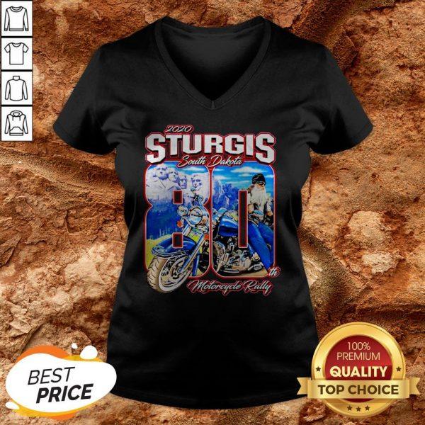 Sturgis South Dakota 80th Motorcycle Rally V-neck