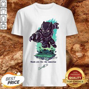 The King Of Wakanda Black Panther Had Dies 1977-2020 Shirt