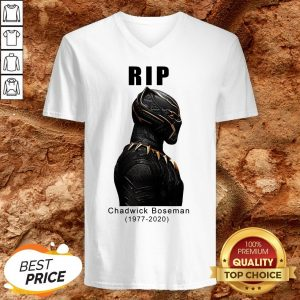 Wakanda Forever After Black Pather Star Dies At 43 V-neckWakanda Forever After Black Pather Star Dies At 43 V-neck
