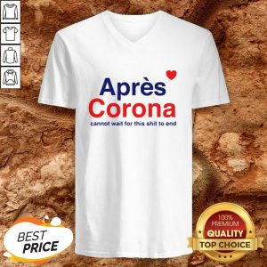Apres Corona Cannot Wait For This V-neck