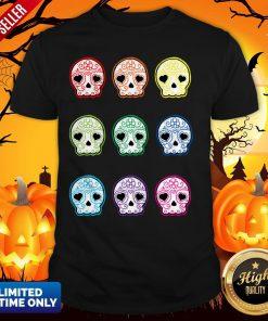 Baby Suga Skulls Day Of The Dead Dia De Los Muertos Shirt
