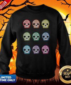 Baby Suga Skulls Day Of The Dead Dia De Los Muertos Sweatshirt