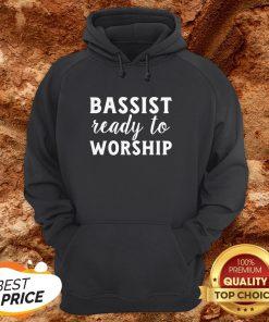 Bassist Reading To Worship Hoodie