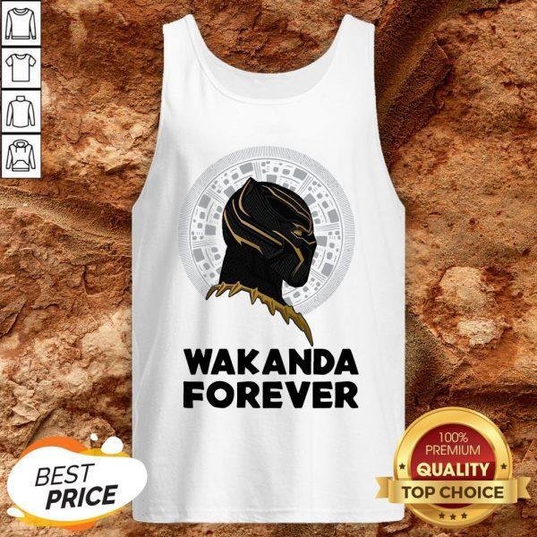 Black Panther Wakanda For The Memories Signature Tank Top