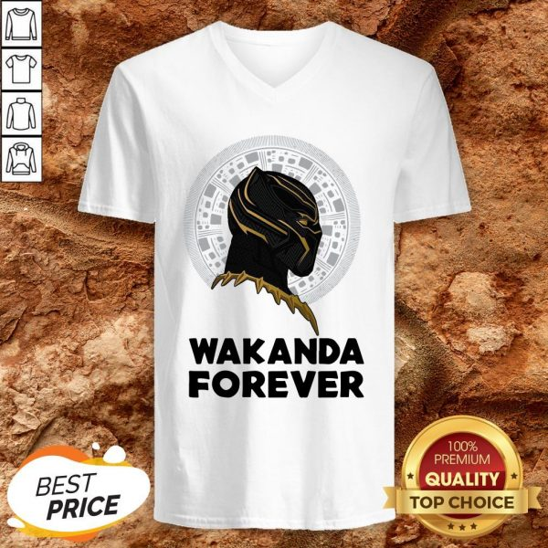 Black Panther Wakanda For The Memories Signature V-neck