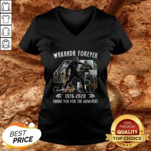 Black Panther Wakanda Forever Thank You For The Memories V-neckBlack Panther Wakanda Forever Thank You For The Memories V-neck