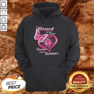 Blessed To Be Caked Breast Cancer Survivor Hoodie