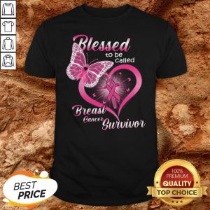 Blessed To Be Caked Breast Cancer Survivor Shirt