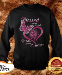 Blessed To Be Caked Breast Cancer Survivor Sweatshirt