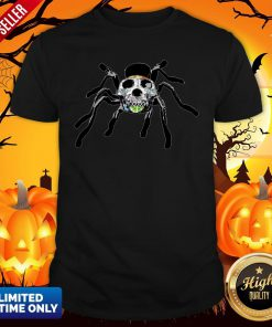 Day Of The Dead Skull Tarantula Halloween Day Shirt