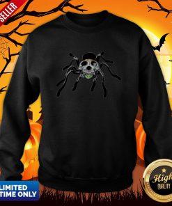 Day Of The Dead Skull Tarantula Halloween Day Sweatshirt