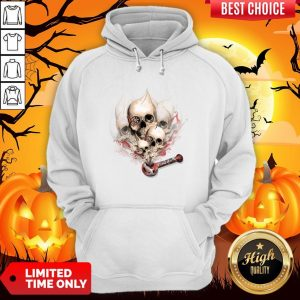 Faded Youth Smoke Skulls Day Of The Dead Hoodie
