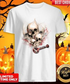 Faded Youth Smoke Skulls Day Of The Dead Shirt