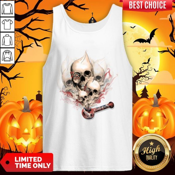 Faded Youth Smoke Skulls Day Of The Dead Tank TopFaded Youth Smoke Skulls Day Of The Dead Tank Top