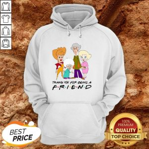 Golden Girl Thank You For Being A Friend Halloween Hoodie