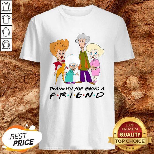 Golden Girl Thank You For Being A Friend Halloween ShirtGolden Girl Thank You For Being A Friend Halloween Shirt