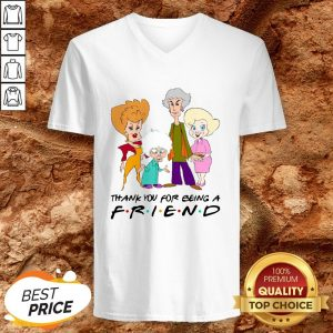 Golden Girl Thank You For Being A Friend Halloween V-neckGolden Girl Thank You For Being A Friend Halloween V-neck