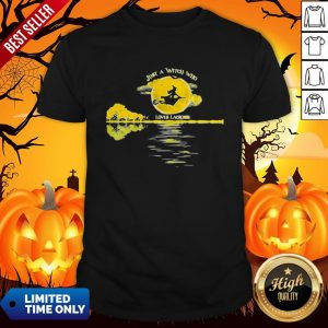 Halloween Just A Witch Who Loves Lacrosse Moon ShirtHalloween Just A Witch Who Loves Lacrosse Moon Shirt