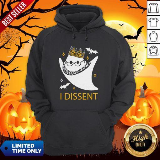 Halloween Ruth Bader Ginsburg I Dissent Hoodie