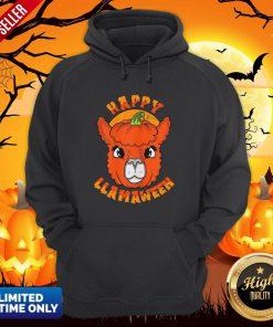 Happy Llamaween Pumpkin Hoodie