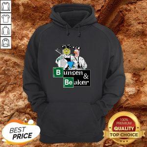 Hot Bunsen And Beaker Breaking HoodieHot Bunsen And Beaker Breaking Hoodie