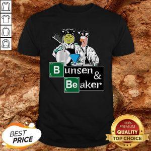 Hot Bunsen And Beaker Breaking ShirtHot Bunsen And Beaker Breaking Shirt